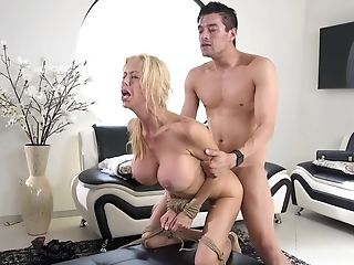 Alexis Fawx, BDSM, Blonde, Bondage, Facial, Fetish, MILF, Rough, Submissive, Whore,