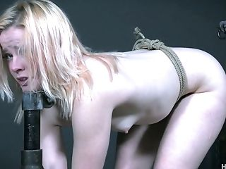 Anal Sex, BDSM, Blonde, Bondage, Gagging, Pick Up, Rough,