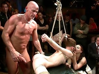 Abuse, BDSM, Bondage, Brunette, Brutal, Emo, Flexible, From Behind, Group Sex, Hardcore,