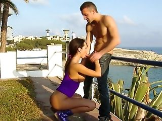 Babe, Beauty, Big Tits, Blowjob, Brunette, Franceska Jaimes, From Behind, Gorgeous, Hardcore, Money,