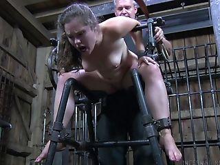 Babe, BDSM, Big Tits, Blowjob, Bold, Bondage, Boobless, Brunette, Charlotte Vale, Deepthroat,