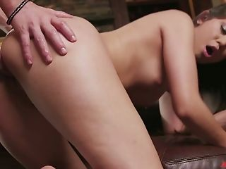 Beauty, Brunette, Cowgirl, Cute, Dick, From Behind, Hardcore, Horny, Riding, Slut,