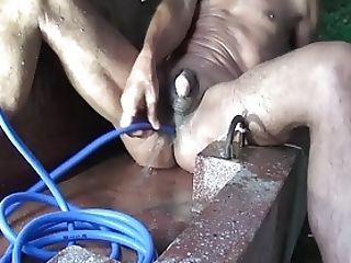 Lena pantyhose playtime video