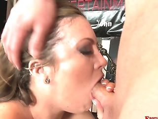 Ass, Blowjob, Carmen Valentina, Couple, Cute, Dick, Doggystyle, Fat, Hardcore, High Heels,