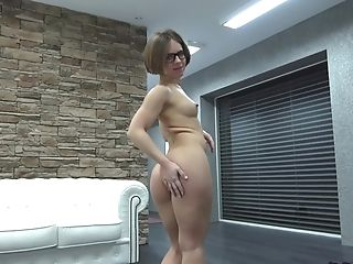 Blonde, Boobless, Couple, Doggystyle, Glasses, Hardcore, Missionary, Nerd, POV, Pussy,