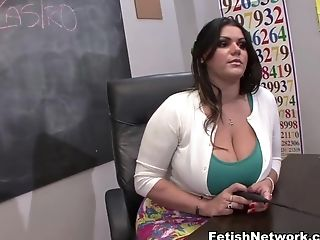 Angelina Castro, Big Ass, Big Tits, Brunette, Casting, College, Cumshot, Fetish, Foot Fetish, Footjob,