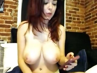 Big Tits, Saggy Tits, Solo, Webcam,