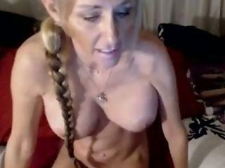 Dildo, Horny, Stepmom, Webcam,