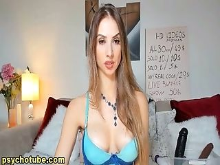 Babe, Blonde, Deepthroat, Seduction, Sex Toys, Webcam,