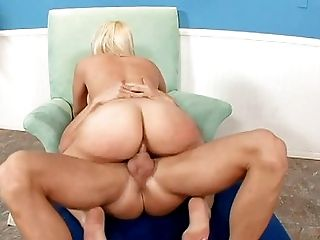 Ass, Big Ass, Big Cock, Blonde, Blowjob, Bold, Caucasian, Couple, Cumshot, Deepthroat,