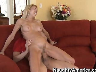 Big Tits, Blonde, Blowjob, Cute, Erica Lauren, Facial, Friend, Hairy, HD, Mature,
