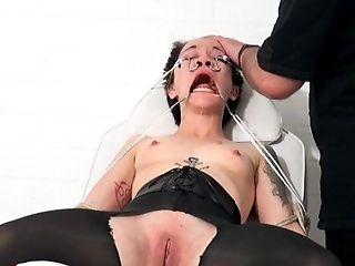 Asian, BDSM, Bizarre, Bold, Bondage, Boobless, Brunette, Caucasian, Couple, Domination,