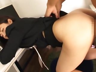 Blowjob, Cowgirl, Cunt, Doggystyle, Ethnic, Fingering, Hardcore, High Heels, Office, Oral Sex,