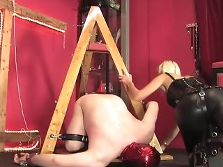 Ballbusting, Big Tits, High Heels, Latex, Mistress,