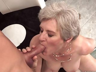 Big Tits, Fucking, Granny, Hairy, Hardcore, Mature, Old And Young, Pretty, Pussy, Short Haired,