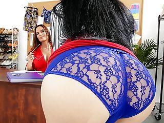 Ass, Beauty, Big Ass, Big Tits, Boss, Brunette, Business Woman, Cunnilingus, Cute, Desk,