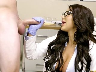 Clinic, Couple, Doctor, Hardcore, Huge Tits, Long Hair, Nurse, Pornstar, Reality, Uniform,
