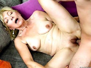 Cum, Dick, Granny, Mature,