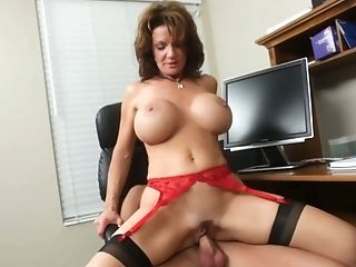 Amy, Big Tits, Brunette, Deauxma, From Behind, Hardcore, Housewife, Mature, MILF, Mom,