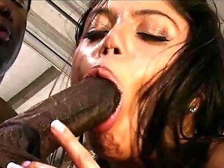 Big Black Cock, Big Cock, Couple, Handjob, Hardcore, Interracial, Latina,