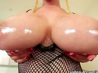 Big Tits, Blowjob, Cum Swallowing, Ethnic, Kianna Dior, Pornstar, POV, Redhead,
