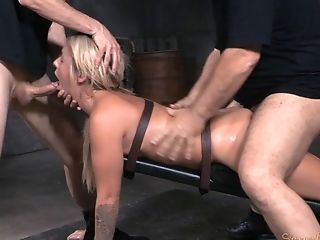 BDSM, Bondage, Cute, Dungeon, Fetish, Madelyn Monroe, Punishment, Rough, Sexy,