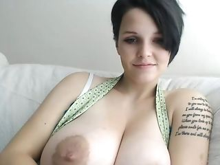 Big Tits, Fat, Goth, Masturbation, Webcam,