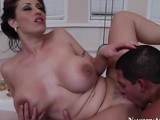 Big Ass, Big Tits, Blowjob, Brunette, Cougar, Eva Notty, Facial, HD, Mature, Seduction,