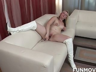 Amateur, Ass, Blonde, Boobless, Boots, Casting, Curvy, Dildo, HD, Homemade,