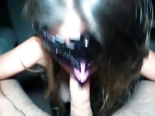 Amateur, Big Tits, Blowjob, Cum In Mouth, Cumshot, Cute, Deepthroat, French, Halloween, POV,