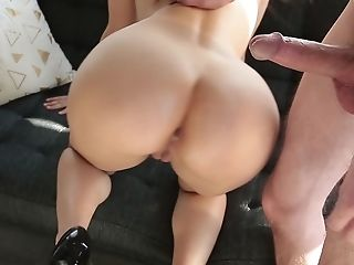 Anal Sex, Ass, Big Tits, Clamp, Couch, European, From Behind, Italian, Natural Tits, Riding,