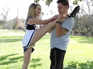 American, Babe, Blonde, Cheerleader, Clothed Sex, College, Cute, Flexible, Horny, Innocent,