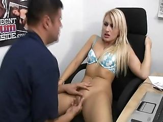 Blonde, Boobless, Couple, Cumshot, Cute, Dick, Hardcore, Licking, Mallory Rae, Piercing,