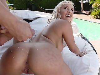 Ass, Babe, Beauty, Blonde, Blowjob, Cowgirl, Cum On Ass, Cumshot, Doggystyle, Hardcore,