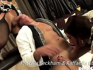 Big Tits, HD, Lingerie, Shemale Fucks Guy, Tranny,