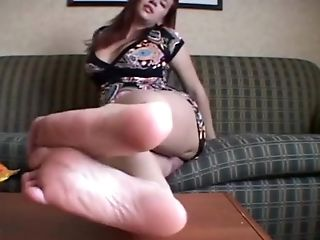 Feet, Femdom, Fetish, Foot Fetish, Humiliation, Redhead, Sarah Blake, Submissive,