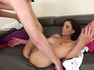 Anal Sex, Ass, Big Tits, Blowjob, Brunette, Cumshot, Cute, Deepthroat, Facial, Handjob,
