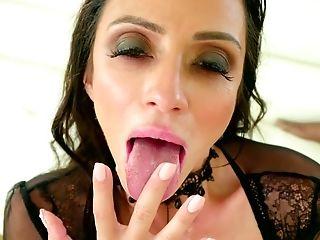 Ariella Ferrera, Big Black Cock, Big Tits, Blowjob, Bold, Brunette, Cumshot, Handjob, Hardcore, Interracial,