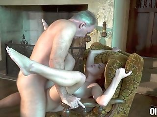 Babe, Blowjob, Family, Old And Young, Redhead,
