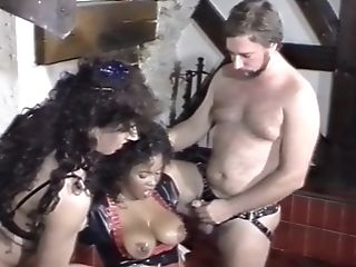 German, Interracial, Jeannie Pepper, Latex, Pissing, Submissive, Threesome,